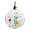 (FMED.Méd.couMdP.Ag7) Médaille de cou argent - Le Petit Prince, la Rose et le Renard Avers
