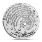 Médaille bronze argenté - Le Petit Prince et ses citations Revers