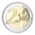 2 euro commémorative Finlande 2015 - Drapeau européen Revers