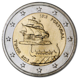 2 euro commémorative Portugal 2015 - Timor Avers (zoom)