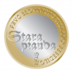 3 euro Slovénie 2015 - Premier texte slovène imprimé Revers