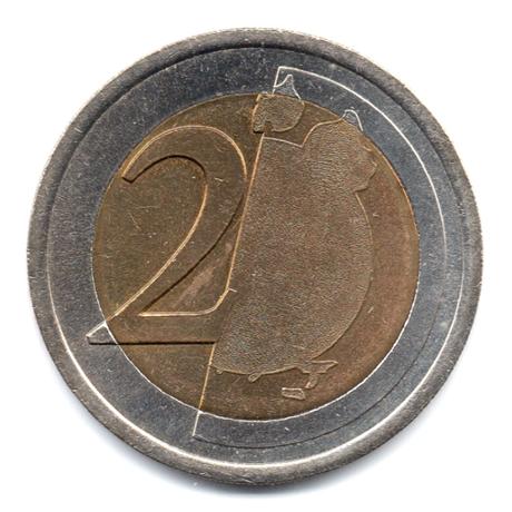 (EUR07.tk200.0.cp5.000000001) Training token 2 euro Revers