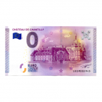 (EURBILLS.000.2015.RF.9.E.UEDM002945) 0 euro France 2015 - Château de Chantilly Recto