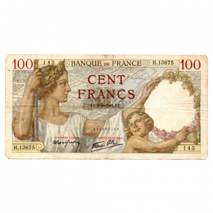(FBILLS.100.1940.1.1.1940_08_08.259.145.341857145) 100 Francs Sully 1940 Recto (zoom)