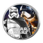 2 dollars Niue 2016 1 once argent BE - Captain Phasma Revers