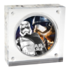 2 dollars Niue 2016 1 once argent BE - Captain Phasma (packaging) (visuel supplémentaire)