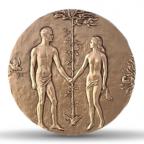 Médaille bronze - Mariage, par Renée Vautier Avers