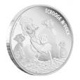 2 dollars Niue 2015 1 once argent BE - Balthazar Picsou Revers (visuel supplémentaire)