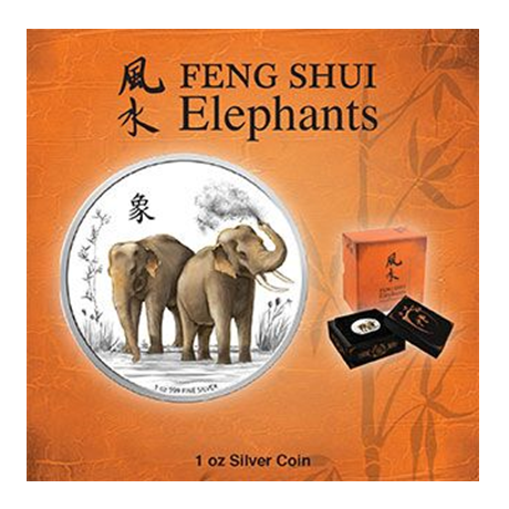 l 39 l phant du feng shui elys es numismatique. Black Bedroom Furniture Sets. Home Design Ideas