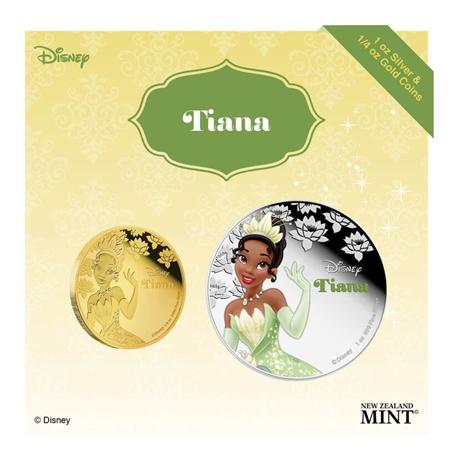 2 dollars Niue 2016 1 once argent BE - Tiana (visuel complémentaire)