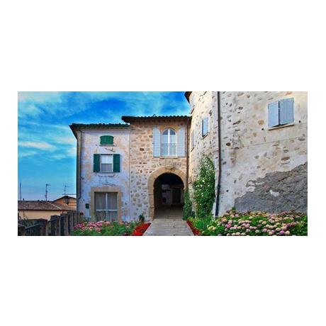 50 euro Saint-Marin 2015 or BE - Hameau pittoresque, dans Montegiardino (visuel complémentaire)
