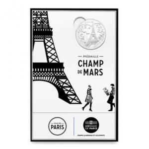 (FMED.Méd.souv.2015.CuNi-2.1) Jeton touristique - Champ de Mars Recto