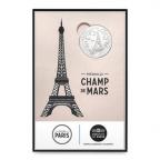 (FMED.Méd.souv.2015.CuNi-4) Jeton touristique - Champ de Mars Recto