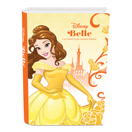 2 dollars Niue 2015 1 once argent BE - Belle (packaging)