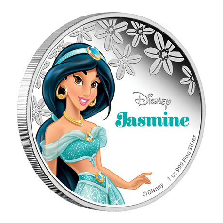 2 dollars Niue 2015 1 once argent BE - Jasmine Revers (visuel supplémentaire)