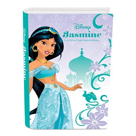 2 dollars Niue 2015 1 once argent BE - Jasmine (visuel complémentaire)