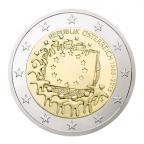 2 euro commémorative Autriche 2015 - Drapeau européen Avers