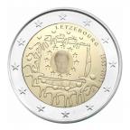 2 euro commémorative Luxembourg 2015 - Drapeau européen Avers