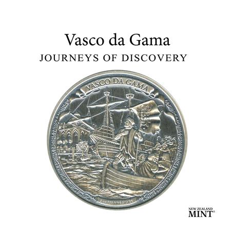 5 dollars Niue 2016 2 onces argent BE - Vasco de Gama (visuel complémentaire)