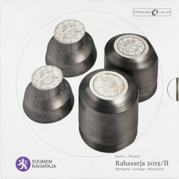 (EUR06.CofBU&FDC.2015.Cof-BU.1) BU coin set Finland 2015 (zoom)