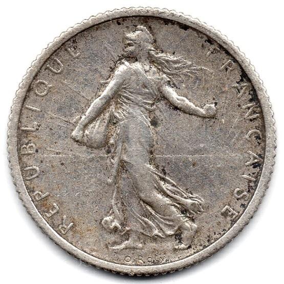 (FMO.1.1917.18.23.000000001) 1 Franc Sower 1917 Obverse (zoom)