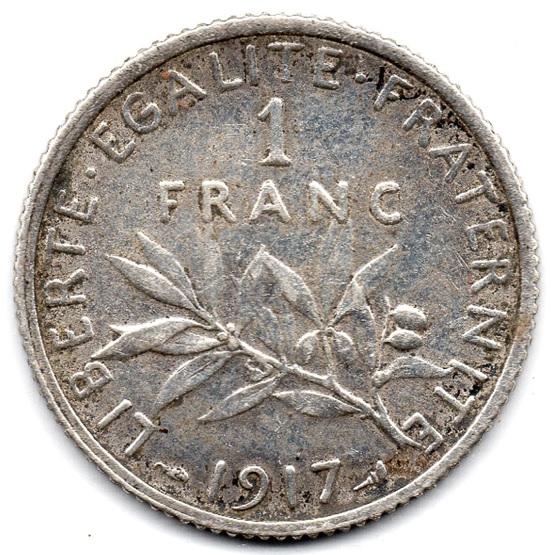(FMO.1.1917.18.23.000000001) 1 Franc Sower 1917 Reverse (zoom)