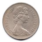 (W185.010.1973.1.1.000000002) 10 Pence Lion couronné 1973 Avers