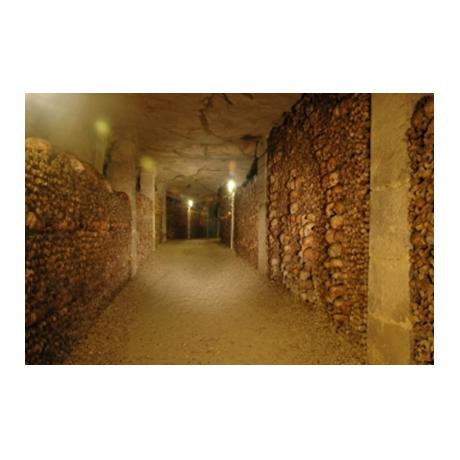 (FMED.Méd.souv.2016.CuAlNi1.000000002) Jeton touristique - Catacombes (visuel complémentaire)