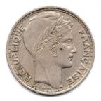 (FMO.10.1945.2.2.000000001) 10 Francs Turin 1945, grosse tête (rameaux longs) Avers