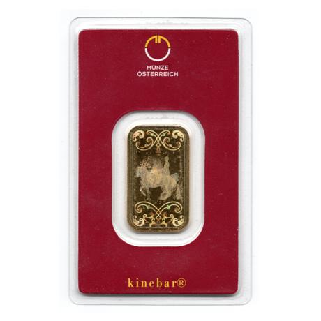 Lingot Or 10 Grammes Münze österreich