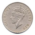(W001.1.1sh.1948.1.000000001) 1 Shilling Lion 1948 Avers