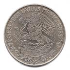 (W148.100.1971.1.000000001) 1 Peso José María Morelos 1971 Avers