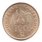 (W161.1.10000.1976.1.000000001) 100 Francs Hutte 1976 Revers