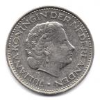 (W172.100.1972.1.-1.000000001) 1 Gulden Juliana 1972 Avers