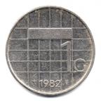 (W172.100.1982.1.1.000000001) 1 Gulden Beatrix 1982 Revers