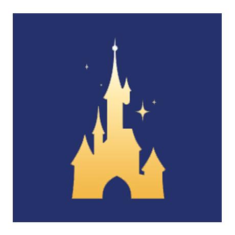 (FMED.Méd.souv.2016.CuAlNi2.000000002) Jeton touristique - Minnie et le Carrousel de Lancelot (visuel complémentaire)