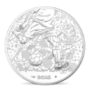 10 euro France 2016 argent - Championnat d'Europe de football Avers