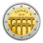 2 euro commémorative Espagne 2016 - Aqueduc de Ségovie