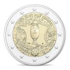 2 euro commémorative France 2016 BE - Championnat d'Europe de football Avers
