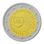 2 euro commémorative Slovaquie 2016 - Présidence du Conseil de l'UE Avers