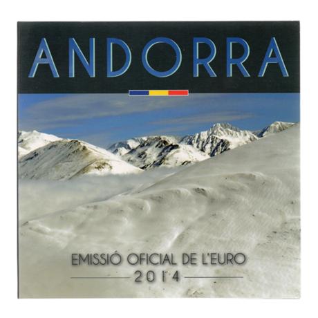 Coffret BU Andorre 2014 Recto