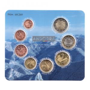 (EUR24.CofBU&FDC.2014.Cof-BU.cp5.69269) Coffret BU Andorre 2014 Recto (visuel supplémentaire)
