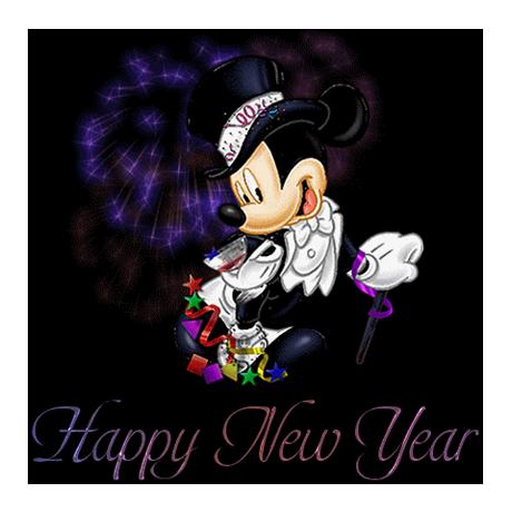 (FMED.Méd.souv.2015.CuAlNi1.-1.-1.000000002) Jeton touristique - Mickey présente ses voeux de nouvel an (visuel complémentaire)