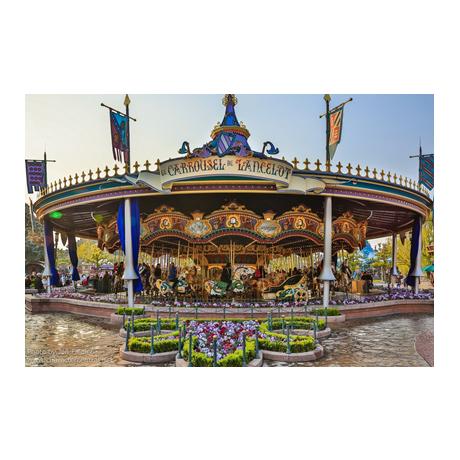 (FMED.Méd.souv.2016.CuAlNi2.000000002) Jeton touristique - Minnie et le Carrousel de Lancelot (visuel complémentaire 2)
