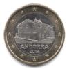 1 euro Andorre 2014 Avers