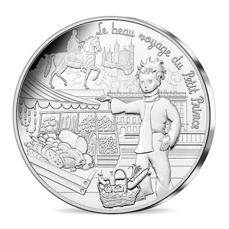 10 euro France 2016 argent - Le Petit Prince et la gastronomie Avers