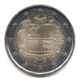2 euro Andorre 2014 Avers