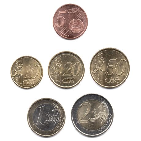 5 cent à 2 euro Andorre 2014 Revers
