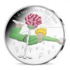 50 euro France 2016 argent - Le Petit Prince et la Rose Avers