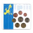 (EUR08.CofBU&FDC.2002.M-S1.000000002) Mini-set BU Grèce 2002 Verso